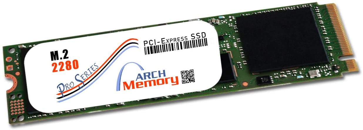 Arch Memory Pro Series Upgrade for Asus 512 GB M.2 2280 PCIe (3.1 x4) NVMe Solid State Drive (TLC) for Prime X370-PRO