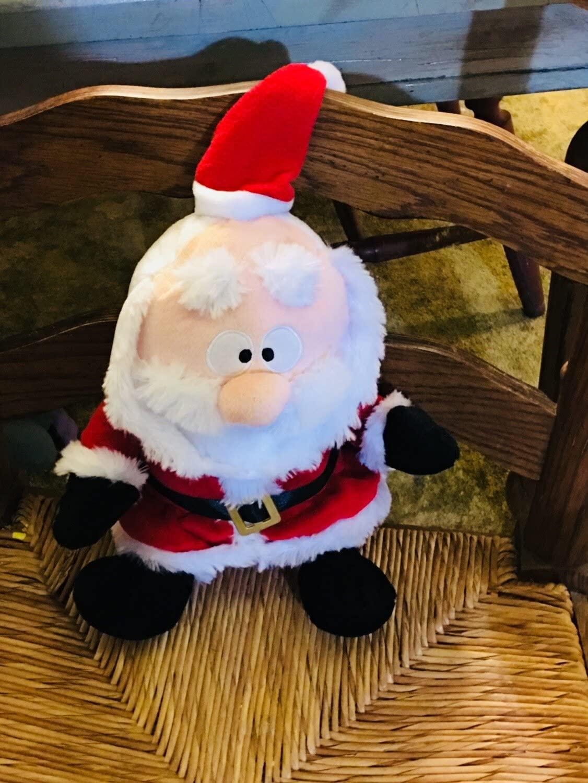 Gemmy Santa Claus Animated Interactive Plush