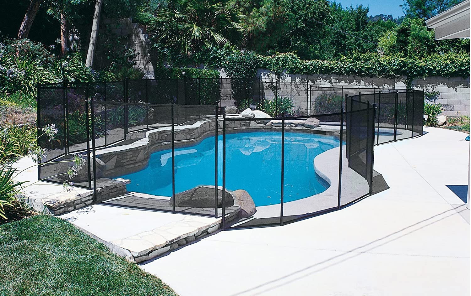 In-Ground Pool Safety Fence Drill Guide Deposit
