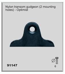 Nautos 91147 - Nylon TRANSOM Gudgeon -Set of 4 Pieces