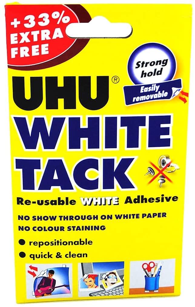Uhu White Tack Adhesive