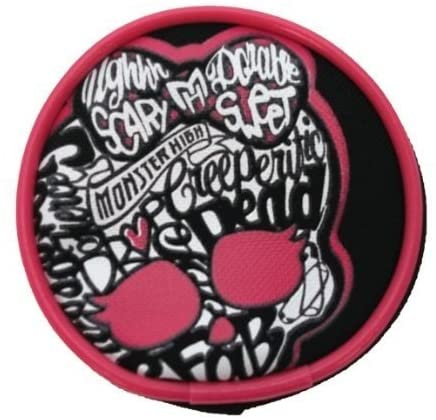 Character Monster High Round Zip Purse