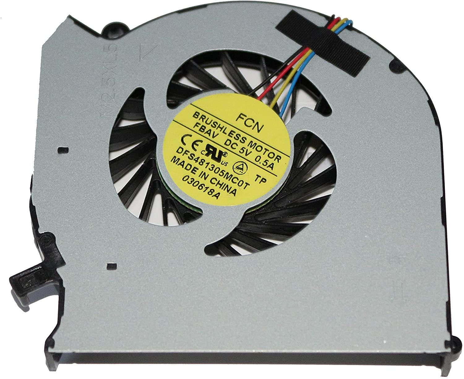 GIVWIZD Laptop Replacement CPU Cooling Fan for HP Envy dv6-7300se dv6-7300sl dv6-7300sp dv6-7300ss dv6-7300st dv6-7300sx dv6-7301AX