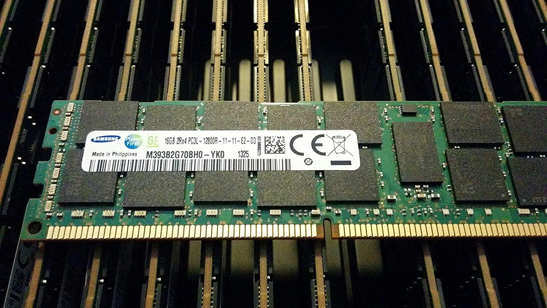 Samsung DDR3-1600 16GB ECC/REG Samsung Chip Server Memory (M393B2G70BH0-YK0)