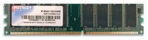 Patriot 1GB 184-Pin DDR SDRAM 400 (PC 3200) Desktop Memory Model PSD1G400
