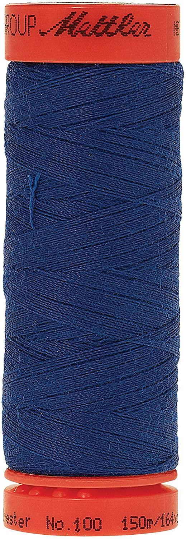 Mettler Metrosene 100% Core Spun Polyester Thread, 165 yd, Royal Blue