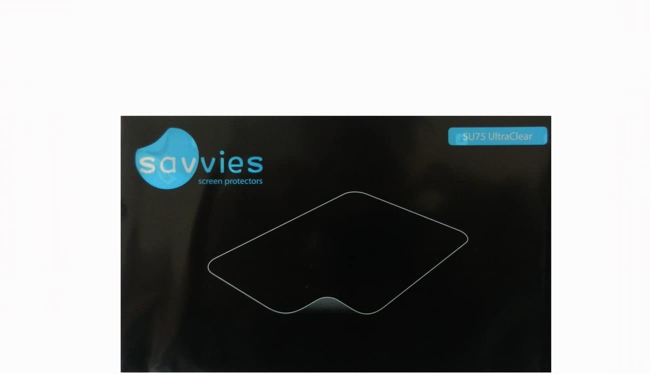 Bedifol 6X Savvies Ultra-Clear Screen Protector for Tolino Vision, accurately Fitting - Simple Assembly - Residue-Free Removal