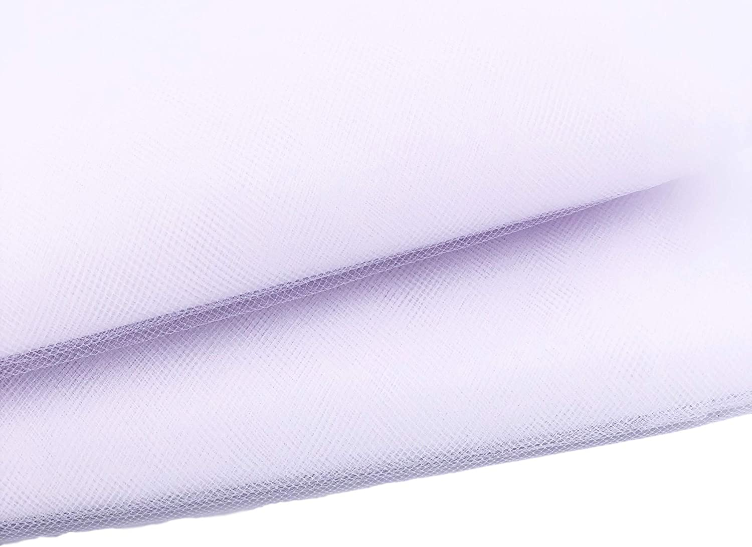 Tulle Fabric Roll Bolt 54 inch by 20 Yards (60 Feet) Wedding Party Decoration Bridal Shower Tutu, White