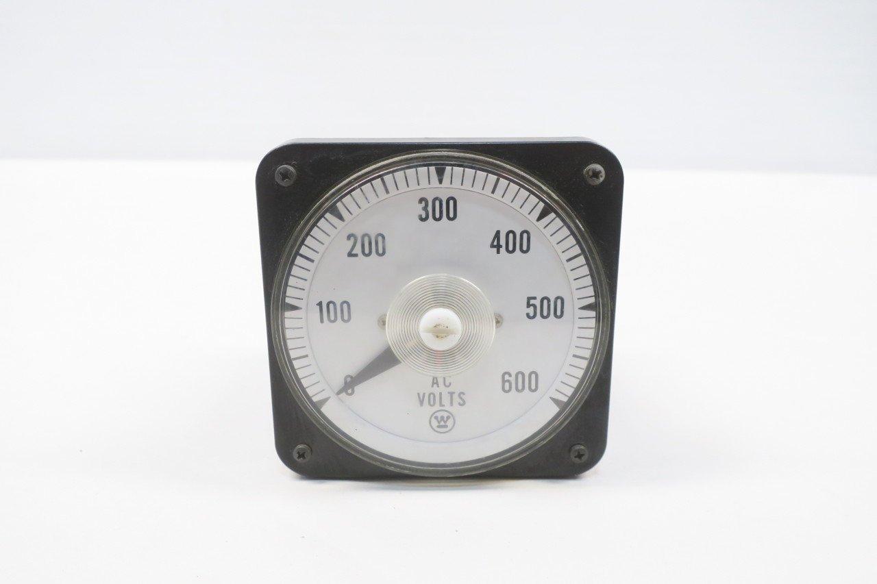 YOKOGAWA 103021RSSJ7MAJ/P 0-600V AC Volt Meter D583433