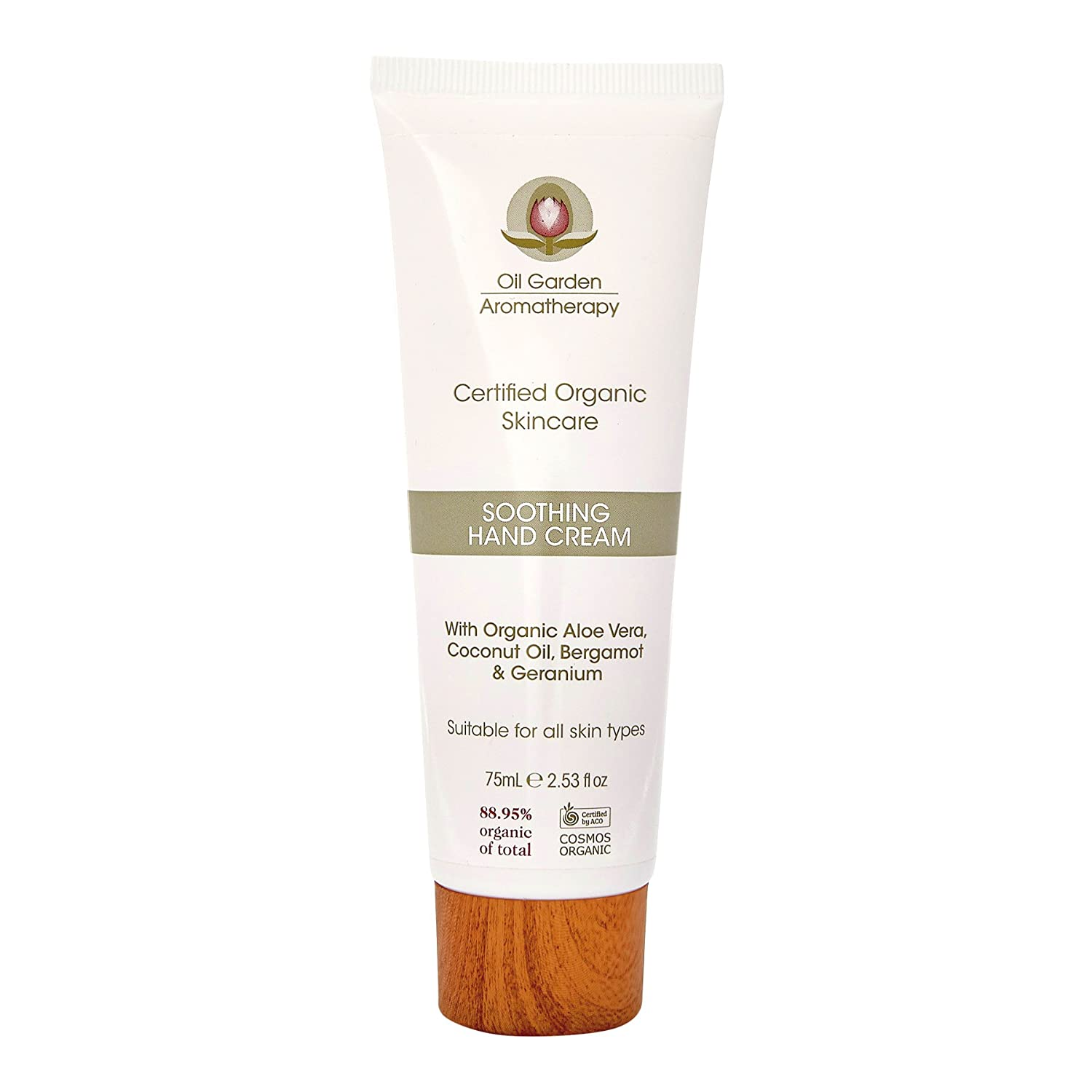 Oil Garden Organic Soothing Hand Cream Natural Nourishing Hand Skin Care with Shea Butter