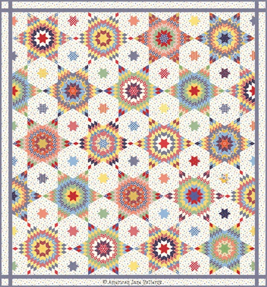 American Jane Good Times Under The Stars Quilt Kit Moda Fabrics KIT21770