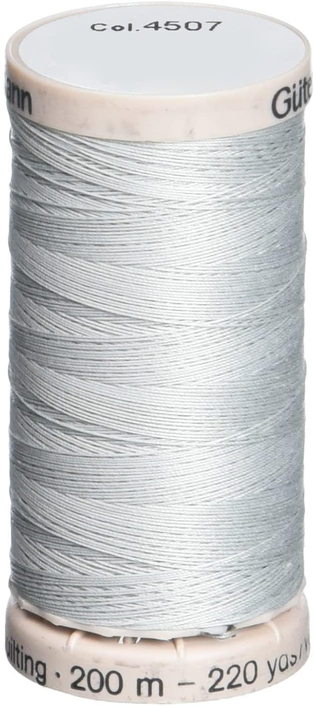 Gutermann Quilting Thread 220 Yards-Light Grey