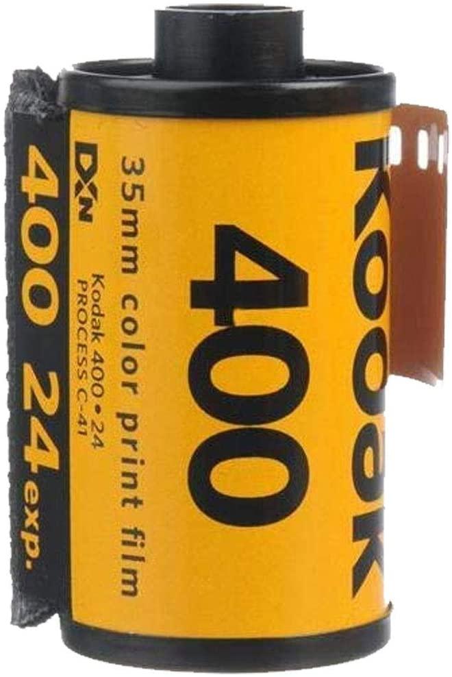 Kodak UltraMax 400 35mm Film GC24 135-24 Exp Gold Color Print Expired