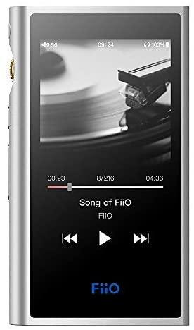 FiiO M9 Hi-Res Audio Lossless MP3 Music Player with HiFi Bluetooth aptX HD/LDAC, USB Audio/DAC,DSD128 Support and WiFi/Air Play Full Touch Screen (Silver)