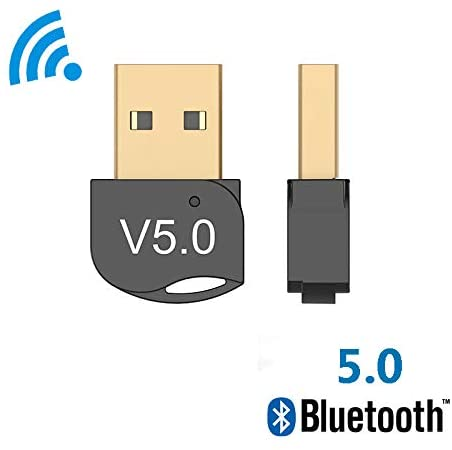 Coodio Wireless USB Bluetooth Adapter 4.0 Bluetooth Dongle Music Sound Receiver Adaptor Bluetooth Transmitter for Computer PC Laptop