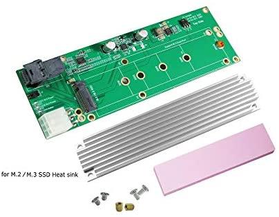 Mini SAS HD to M.2 / M.3 SSD Adapter
