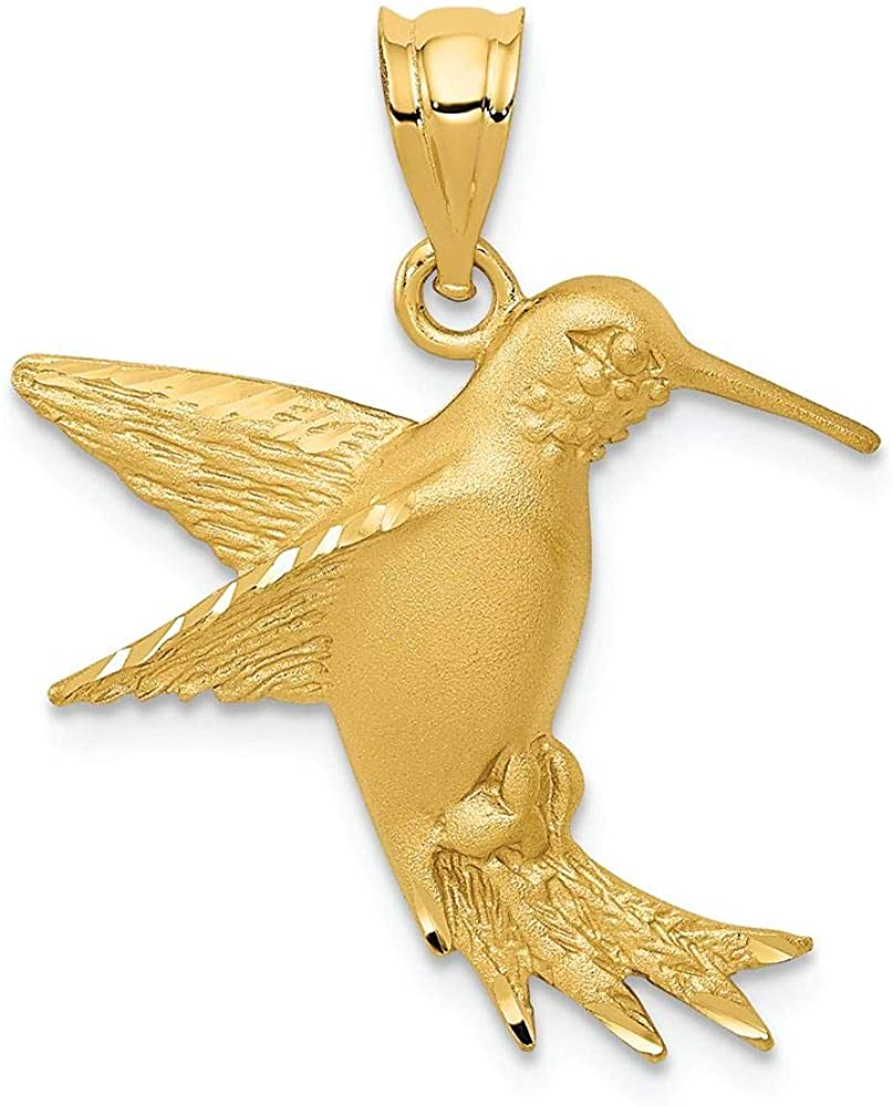 Finejewelers 14k Yellow Gold Hummingbird Charm