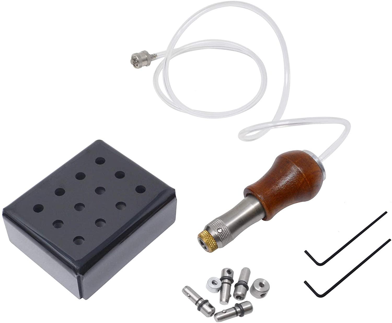 Glardon by Syen-Set EnSet WH Handpiece for EnSet Pneumatic Systems Jewelry Making Stone Setting Beading Hammering Engraving Tool