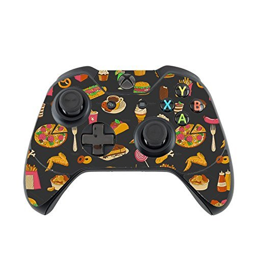 Fun Food Wallpaper Fun Fast Food Vinyl Decal Sticker Skin by Debbies Designs for Xbox One Controller