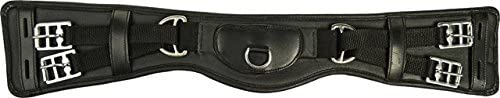 HKM 550404 Leather Saddle Girth, Starter, Length 75 cm Black
