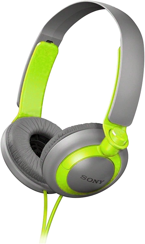 Sony MDR-XB200/G (MDRXB200-Green) XB Extra Bass Series On-Ear Headphones