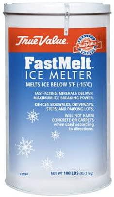 North American Salt 52045 Fast Melt Ice Melter, 45-Pound