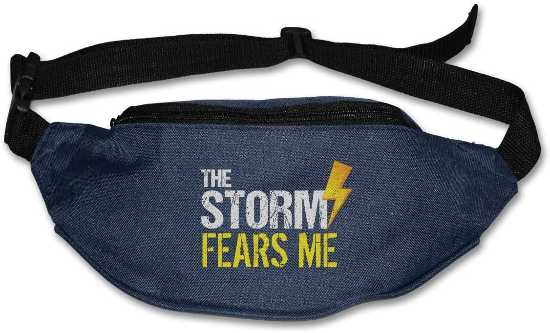 The Storm Fears Me Unisex Outdoors Fanny Pack Bag Belt Bag Sport Waist Pack