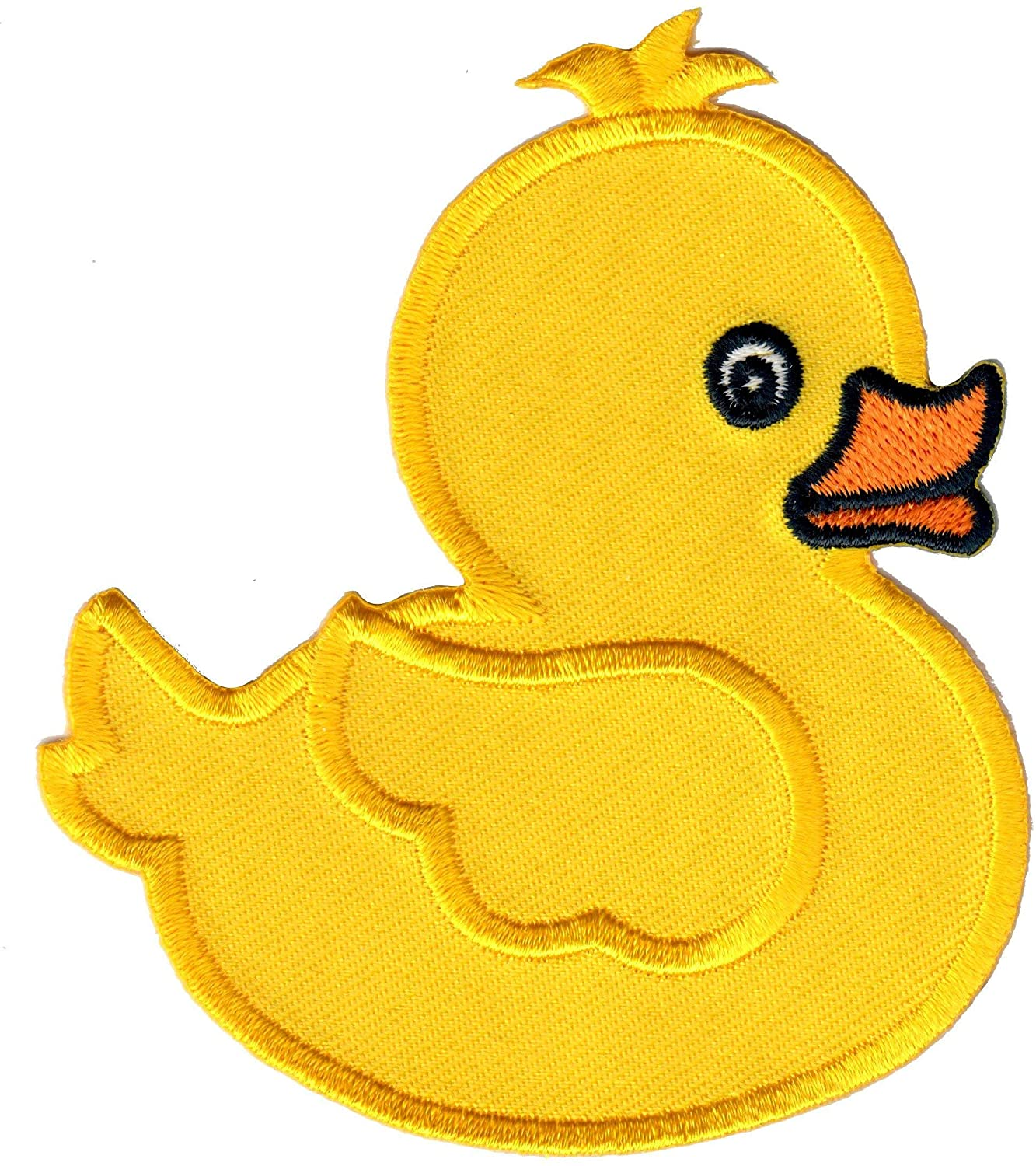PatchMommy Duck Patch, Iron On/Sew On - Appliques for Kids Children