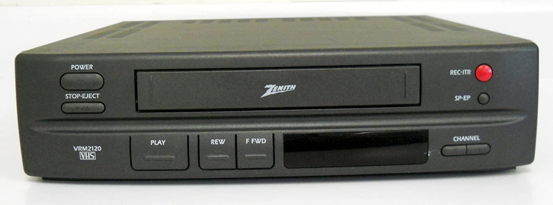 Zenith VRM2120 Video Cassette Recorder Player VCR w/ VHS