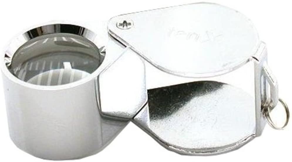 10X Chrome Jewelers Loupe 18mm