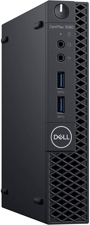 Dell OptiPlex 3060 Micro Desktop Computer, Intel Core i3-8100T 3.1 GHz Quad-Core, 4GB RAM, 500GB HDD, WIFI, Windows 10 Pro (Renewed)