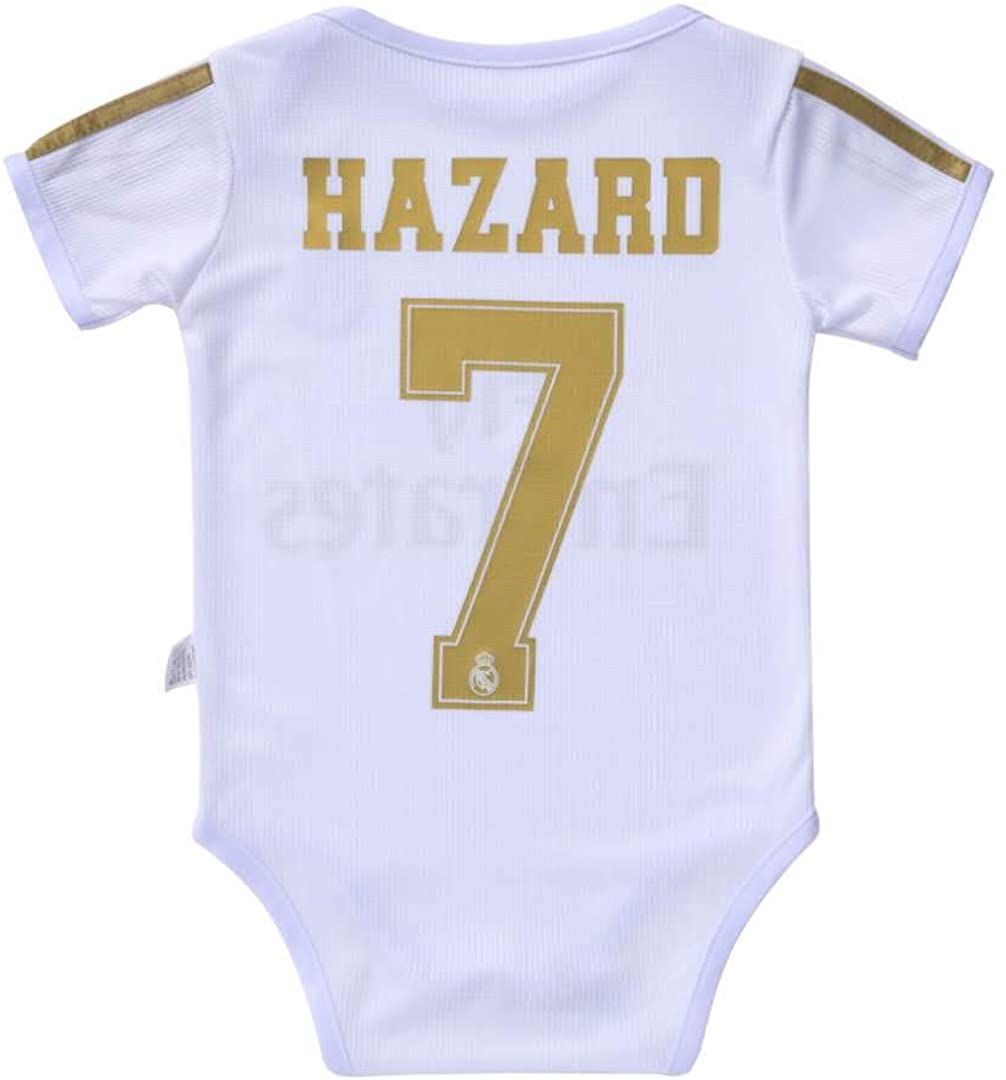 Babyjs Liverpool 11 Salah Bodysuit Soccer Fan Baby Creepers & Rompers Jumpsuit for Infant Toddler