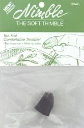 Nimble Thimble Leather with Metal Tip Small NT-S (3-Pack)