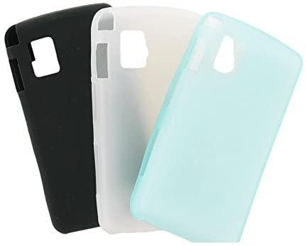 Wireless Solutions LG Vu Premium Gel Multipack (Light Blue, White Black)