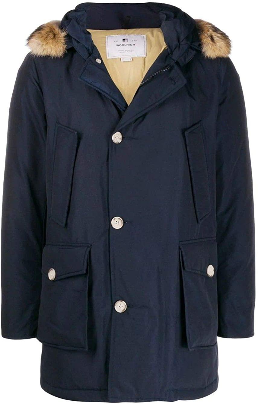 Woolrich Luxury Fashion Man WOCPS2880UT0108MLB Blue Polyamide Outerwear Jacket | Fall Winter 19