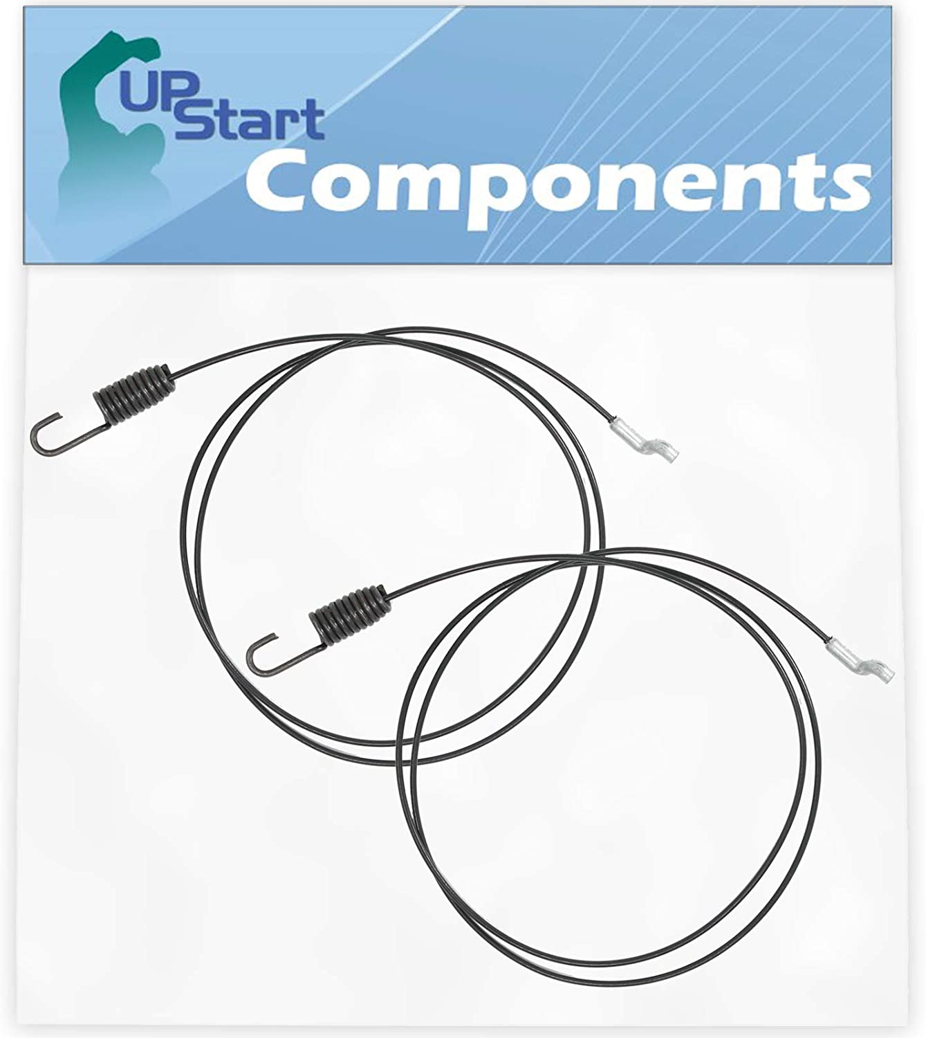 UpStart Components 2-Pack 946-04229B Clutch Cable Replacement for MTD 31AS53TF799 (247.886913)(2012) Snowblower - Compatible with 746-04229 Clutch Drive Cable