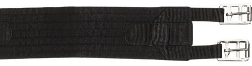HKM 558091 Fabric Saddle Girth L Black