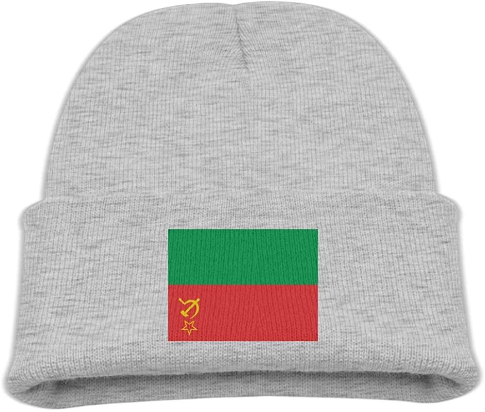 ZWZ Flag Of Burkina Faso Kid's Hats Winter Funny Soft Knit Beanie Cap Children Unisex