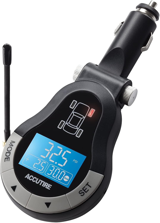 Accutire MS-4378GB Remote Tire Pressure Monitor System for Auto and Trailer
