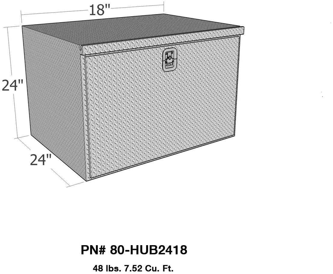 Brute 80-HUB2418 Pro Series HD Under Body Drop Down Door 24