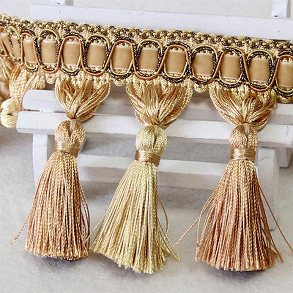 Wildgirl Drape Macrame Curtain Trimming Tassel Braid Fringe 1 Meter (# 30)