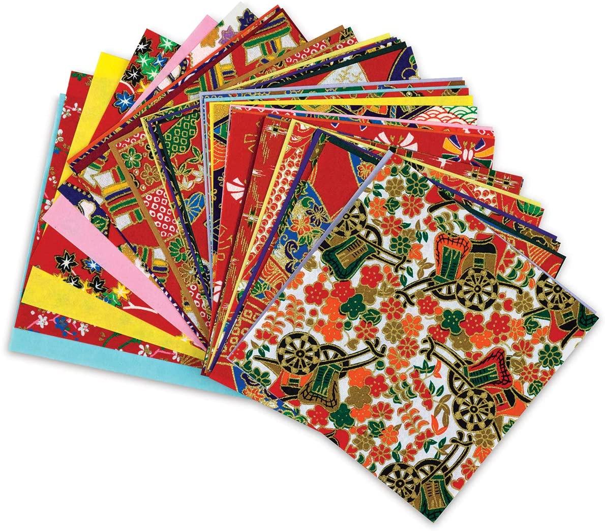 Yuzen Chiyogami LARGE Set of 40 Sheets