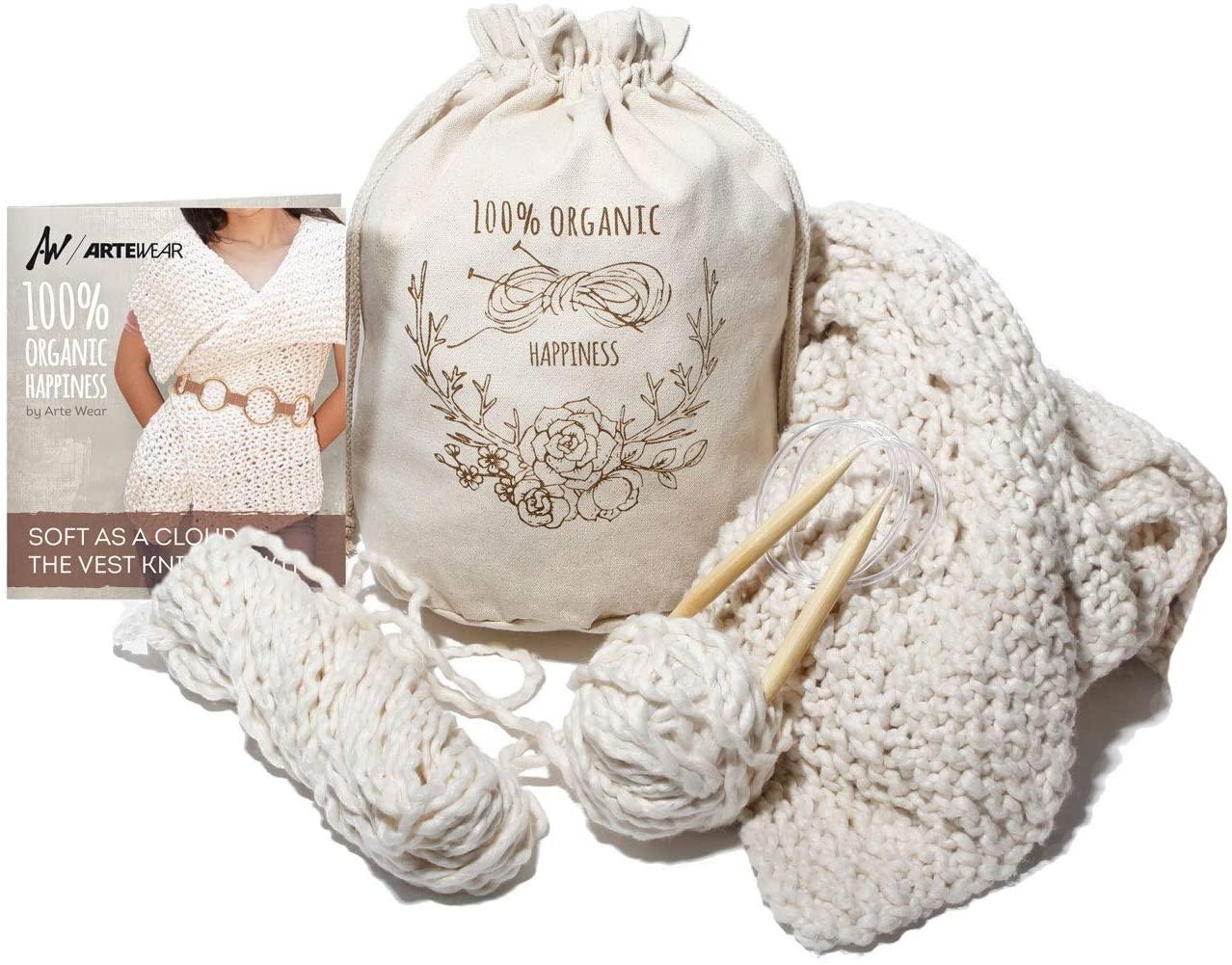 DIY Vest Knitting KIT