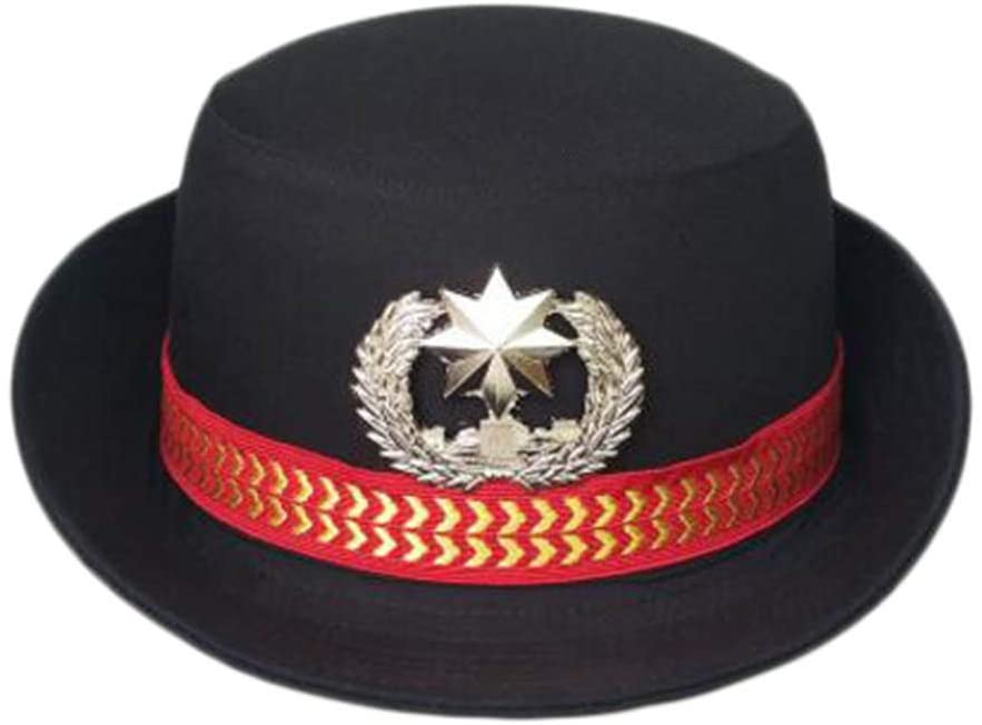 George Jimmy Traffic Cop Hat Police Cap for Women Sailor Cap Costume Accessories Cosplay-A15