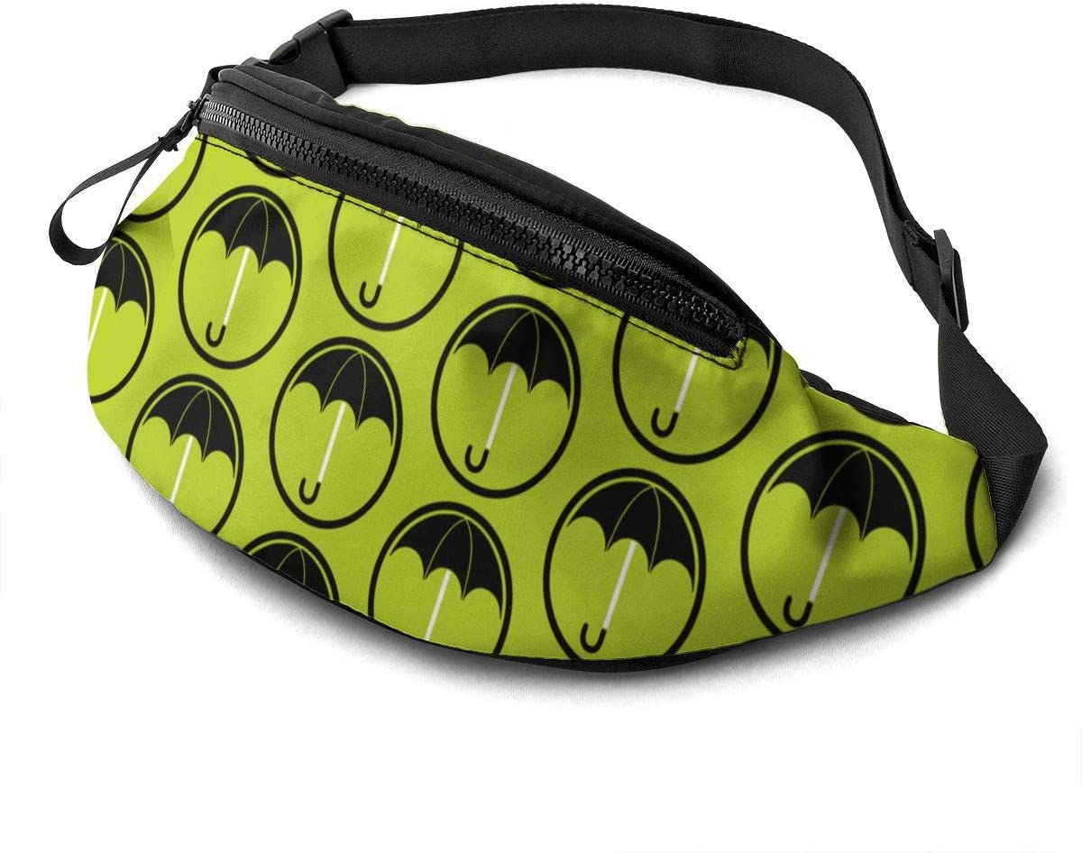 CVHFJYFT The Umbrella Academy Logo Waist Bag for Women's Men Casual Fanny Pack