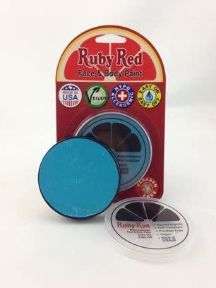 Ruby Red Paint Face Paint, 18 ML - Sea Blue