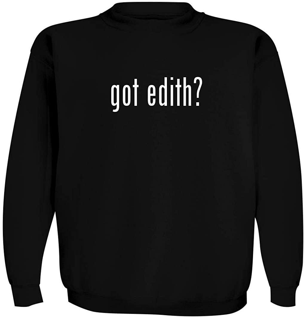 got edith? - Men's Crewneck Sweatshirt