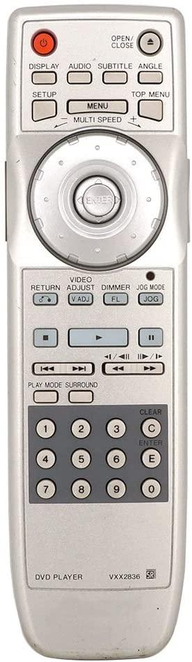 VIRCIA VXX2836 Remote Control for Pioneer DVD Player DV-757AI DV-868AVI