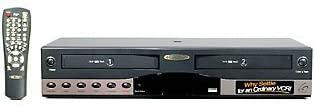 Go Video DDV-9485 Hi-Fi Dual Deck 4 Head VCR w/Duraheads