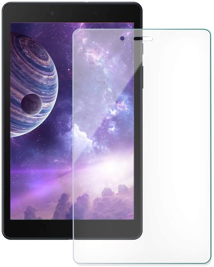ZoneFoker [2 Pack] Galaxy Tab A 8.0 inch 2019 (SM-T290/SM-T295) Tablet Screen Protector, [Anti-Scratch][Easy Installation][Bubble Free] Tempered Glass for Samsung SM-T290/T295 Tablet (Clear)